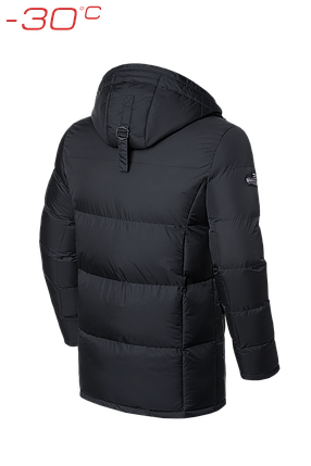 Зимняя мужская куртка Braggart (р. 46-56) арт. 2605 графит, фото 2
