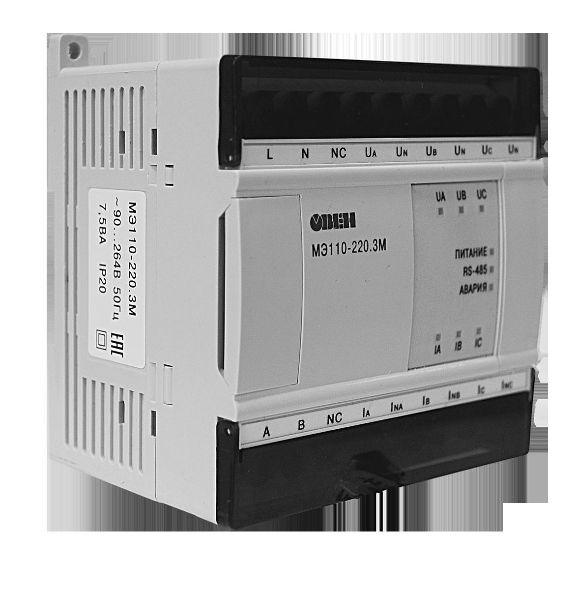 Модуль ввода параметров сети МЭ110-220.3М - Электротехника, автоматизация, КИПиА, приводная техника в Одессе
