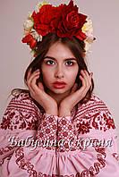 Заготівля Сокальської жіночої сорочки для вишивки нитками/бісером БС-100, фото 1
