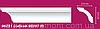 Decomaster (декомастер) - карниз гладкий 96251.Есть гибкий аналог.