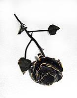 Роза кованая малая Горячая художественная ковка, фото 1