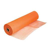 Сетка штукатурная стекловолоконная оранжевая 160г/кв.м