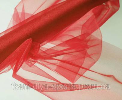 Органза японская красная