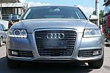 Декоративно-захисна сітка радіатора Audi (Ауді) A6 фальшрадіаторная решітка, бампер, фото 6