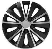 Колпаки на колеса R16 серо / черные SL/BK СУПЕР БЛЭК колпак K0265