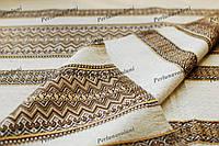 Ткань для вышиванок с украинским орнаментом Рандеву ТДК-110 1/4