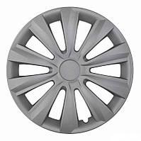 Колпаки на колеса R16 серые Silver колпак K0281