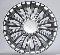 Колпаки на колеса R16 серые Silver колпак K0282