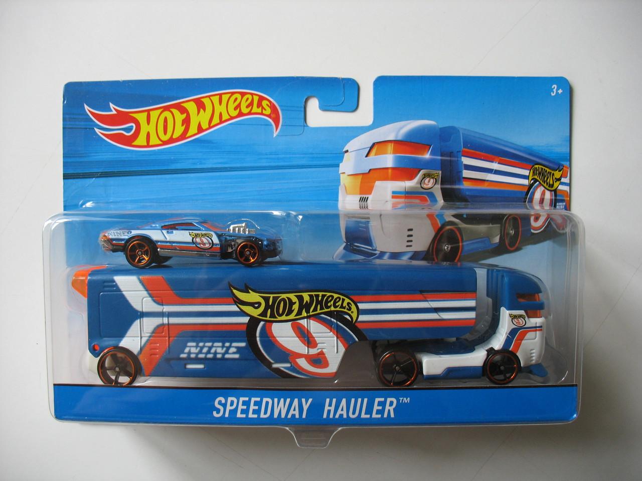 Машина дальнобойщика Hot Wheels™ (Speedway Hauler)