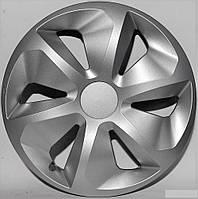 Колпаки на колеса R16 серые Silver колпак K0288
