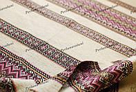 Ткань для вышиванок с украинским орнаментом Рандеву ТДК-110 1/7