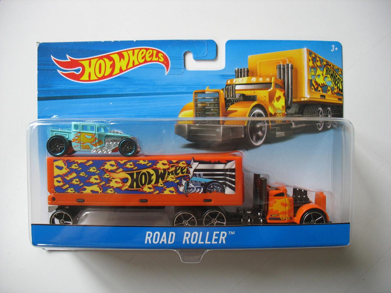 Хот вилс Машина дальнобойщика Hot Wheels™ (Road Roller)