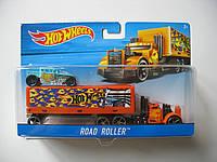 Хот вилс Машина дальнобойщика Hot Wheels™ (Road Roller), фото 1