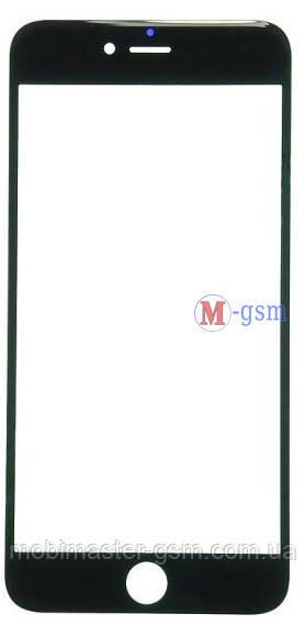 Корпусное стекло на  iPhone 6 Plus orig черное