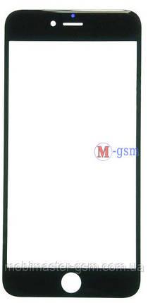 Корпусное стекло на  iPhone 6 Plus orig черное, фото 2
