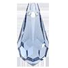 Хрустальные подвески 984 Preciosa (Чехия)  5.5x11 мм, Light Sapphire