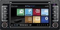 Штатная автомагнитола MyDean 3071-Z Toyota (без штатного цветного монитора)