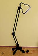 Напольная светодиодная лампа Pixar из дерева ручная работа