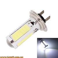 Авто-лампы H7 COB LED 6500К (светодиодные лампочки, лучше чем галогенки и ксенон)