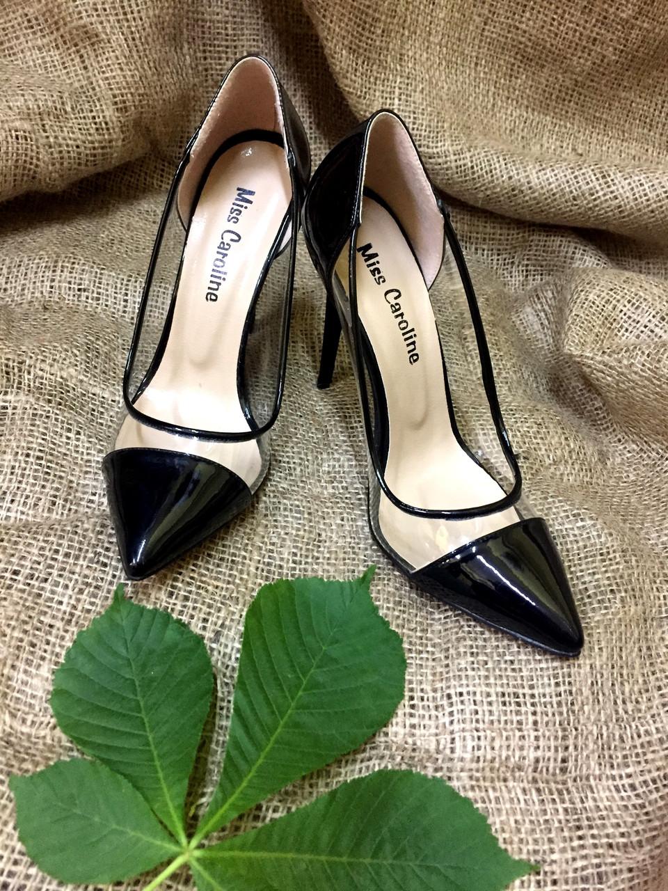 736c08f451f1 Туфли женские на каблуке шпилька цвет черный  продажа, цена в ...
