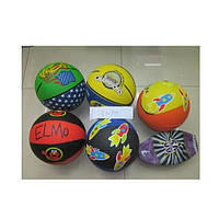 Мяч баскетбольный цветной, 580 г, BB0102