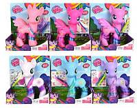 Лошадка My little pony, 22 см, светится, с наклейками, 6216A