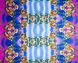 Ткань шифон принтованный (купонный рисунок), фото 3