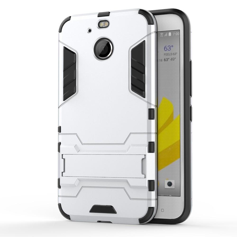 Чехол накладка силиконовый Armor Shield для HTC 10 Evo серебристый
