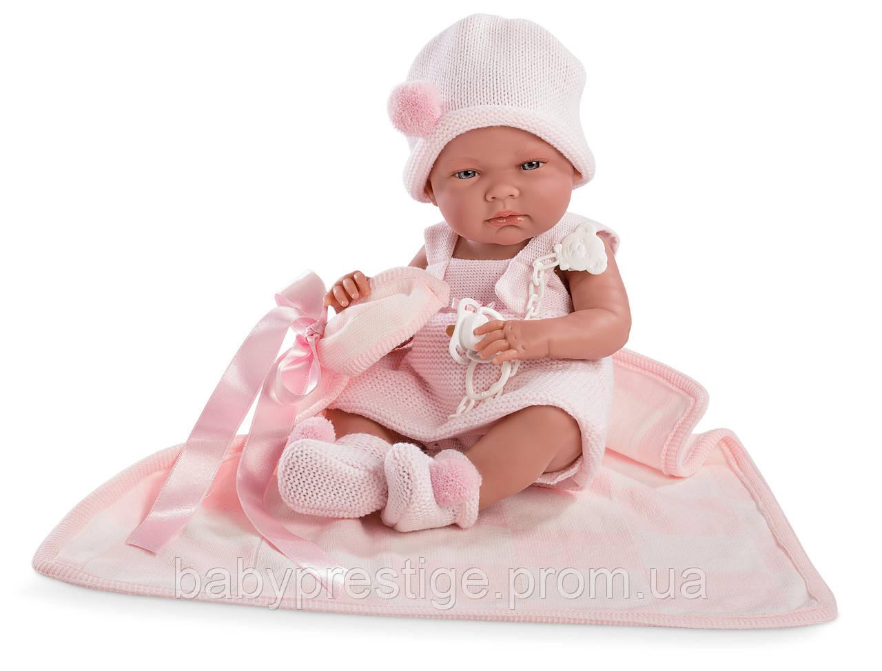 Llorens - новорожденная кукла девочка Nica, 38 см