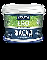 Краска Баланс ЭКО Фасад 7 кг (водоэмульсионная) белая матовая