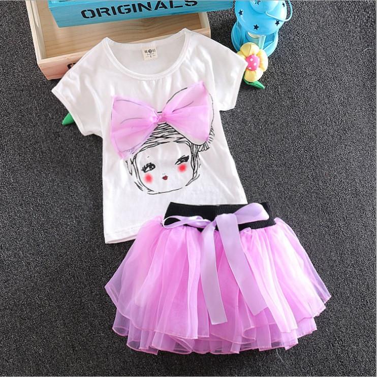 Детская юбка из футболки
