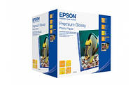 Бумага Epson 100mmx150mm Premium Glossy Photo Paper, 500л.
