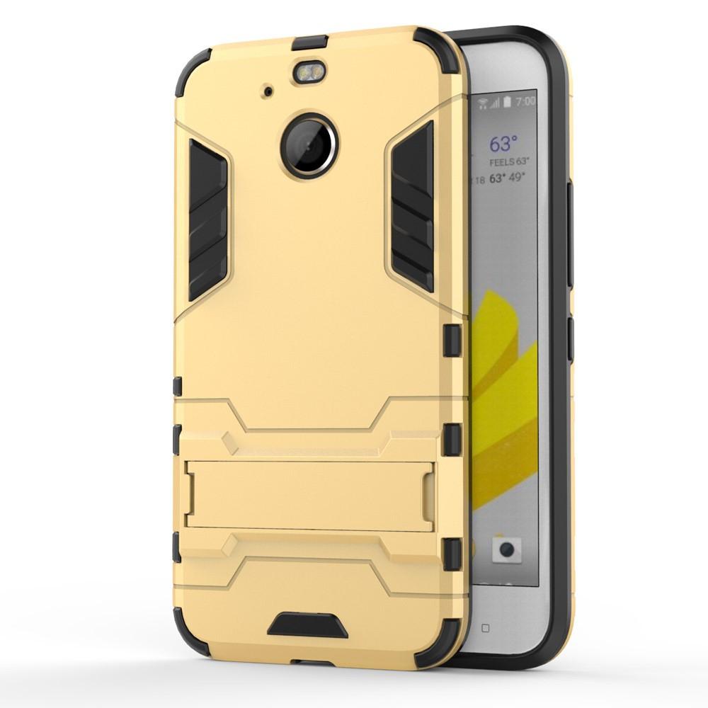 Чехол накладка силиконовый Armor Shield для HTC 10 Evo золотистый