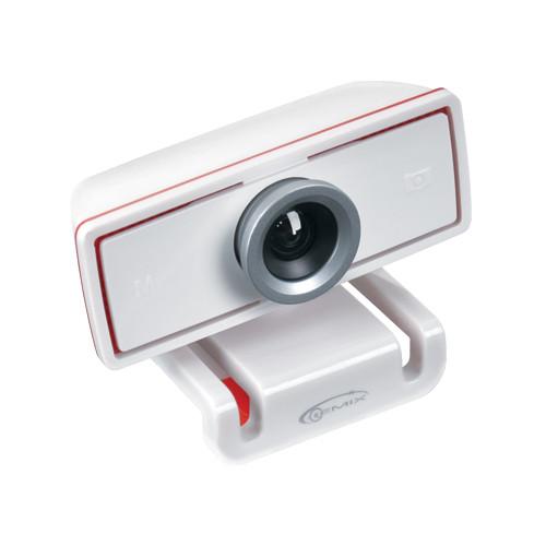 Веб-камера Gemix F11 белая, с микрофоном, 1,3MP