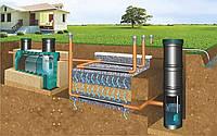 Яма выгребная, колодец, автономная канализация, септик канализационный