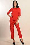 Брючный костюм Горчица Ри Мари красный, фото 2