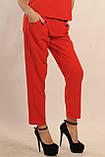 Брючный костюм Горчица Ри Мари красный, фото 3