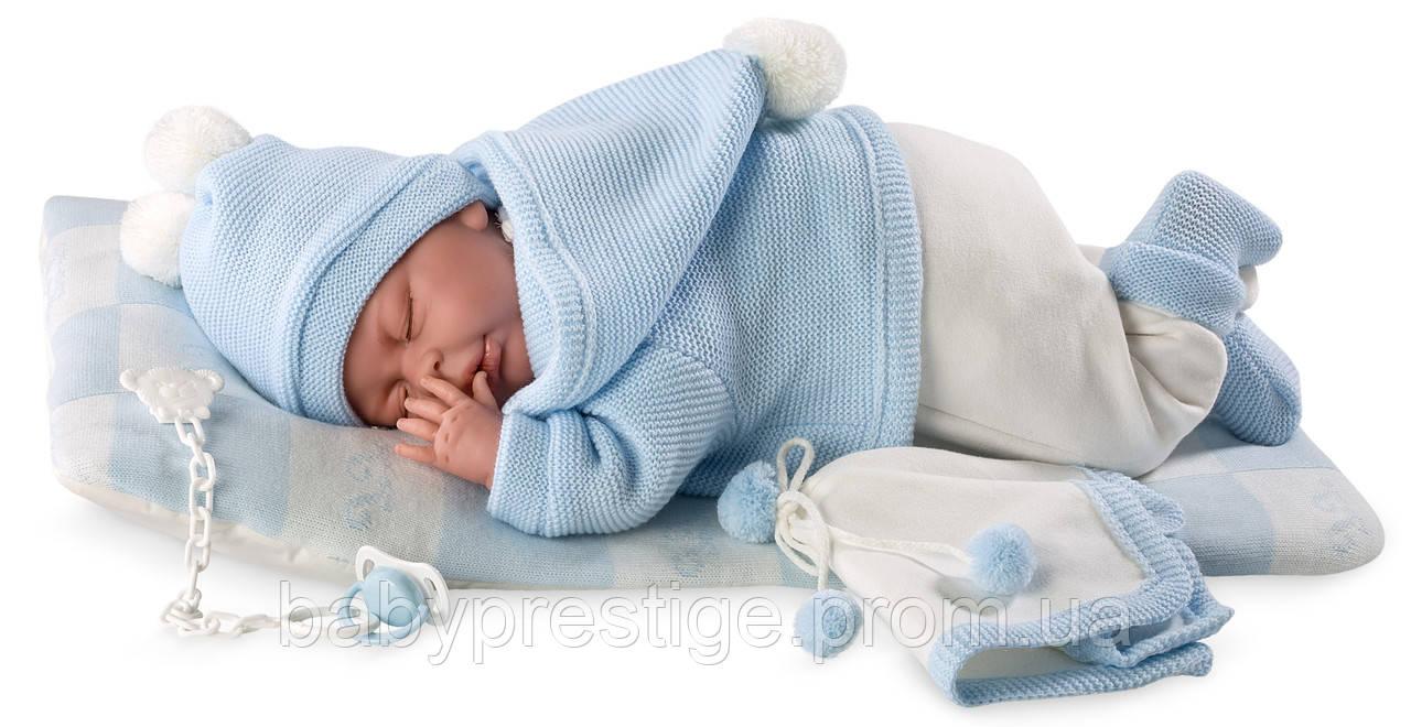 Llorens - кукла пупс новорожденный мальчик Mimo, 40 см