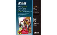 Бумага Epson 100mmx150mm Value Glossy Photo Paper 20 л.