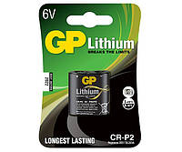 Батарейка литиевая GP CR-P2 U-1 Lithium DL223A 6V