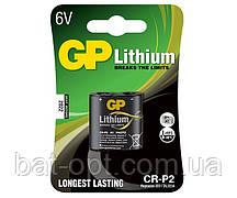 Батарейка литиевая GP CR-P2 U-1 Lithium DL223А 6V