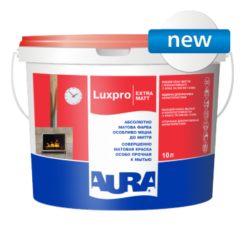 Aura Luxpro Extramatt 5л - интерьерная глубокоматовая краска