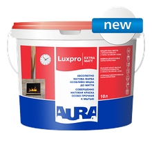 Aura Luxpro Extramatt 10л - интерьерная глубокоматовая краска