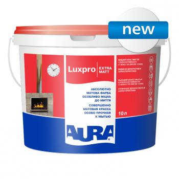 Aura Luxpro Extramatt 1л - интерьерная глубокоматовая краска