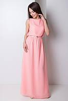 Нарядное платье из шифона 3 цвета