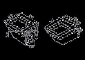 Унитаз подвесной Turkuaz Mona 018000 с крышкой из дюрапласта, фото 3