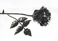 Роза кованая большая Горячая художественная ковка, фото 1