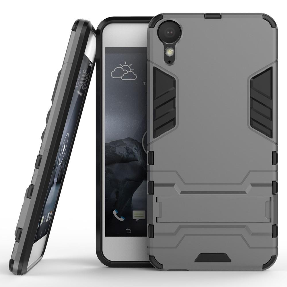 Чехол накладка силиконовый Armor Shield для HTC Desire 10 Pro серый