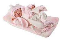 Llorens - новорожденная кукла девочка Mimi, 40 см, фото 1
