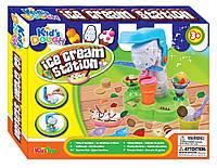 """Набор пластилина """"Мороженое"""", (пластилин 4 цвета, станок для мороженного, формы для лепки), 11656"""